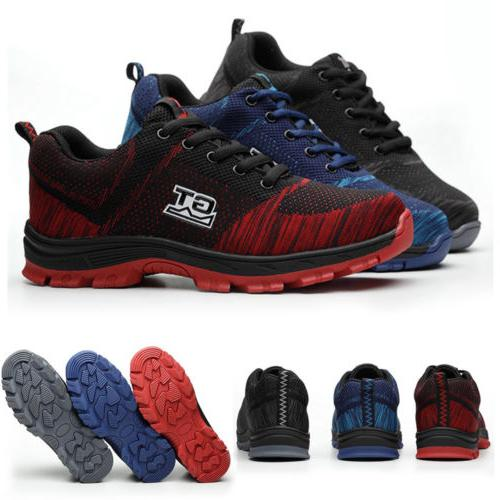 Men Work Shoes Steel Outdoor Sneakers S17