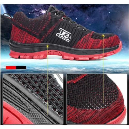Men Safety Steel Boots Sneakers Hiking Climbing Sport S17