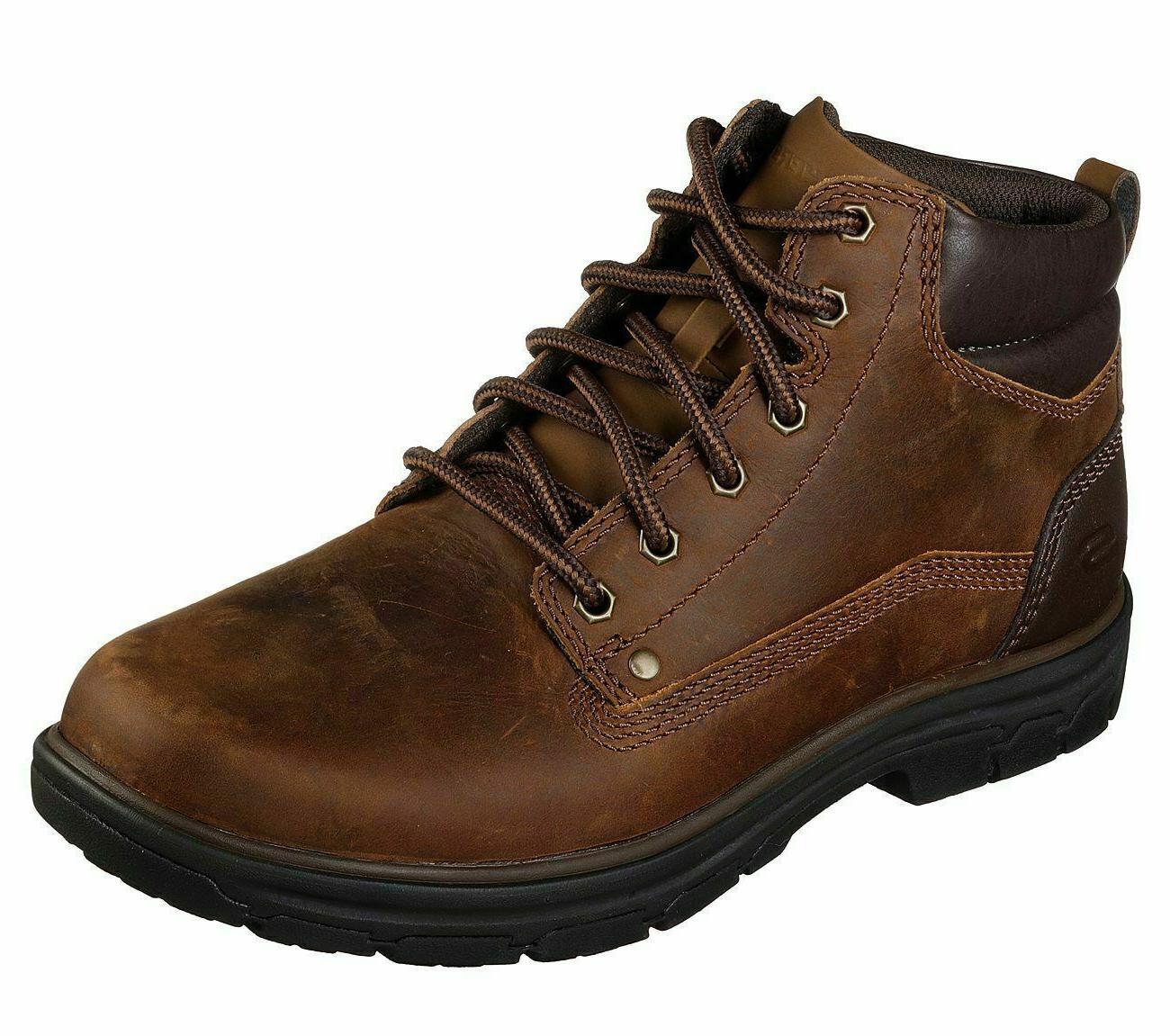 Skechers Men's Segment Garnet    Boots     NIB