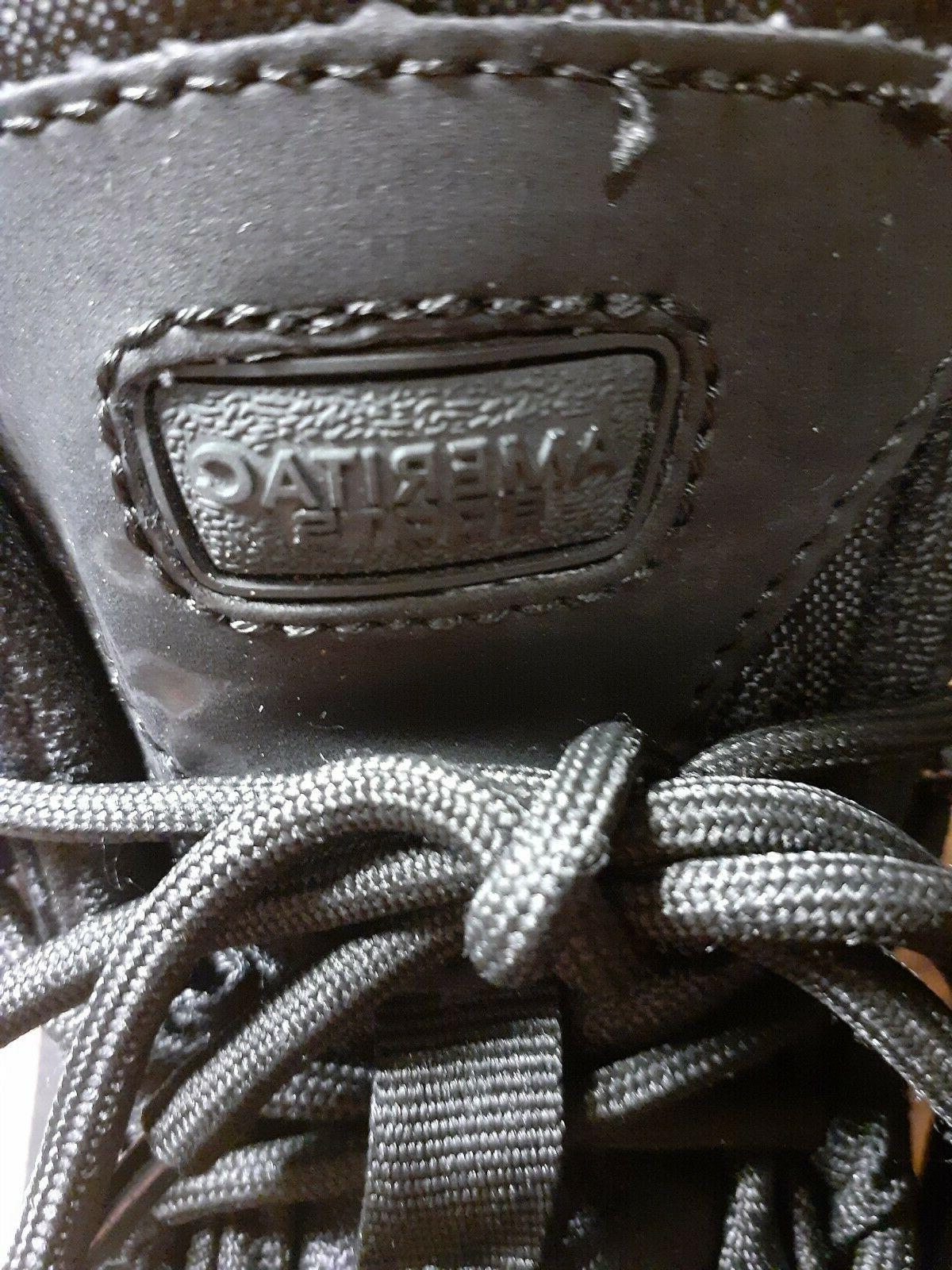 Ameritac Men's boots work Outdoor Tactical black