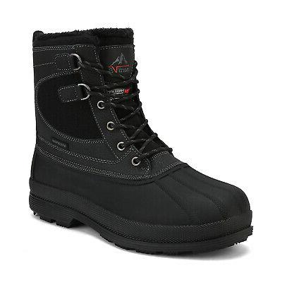 NORTIV Boots Waterproof Duty Winter