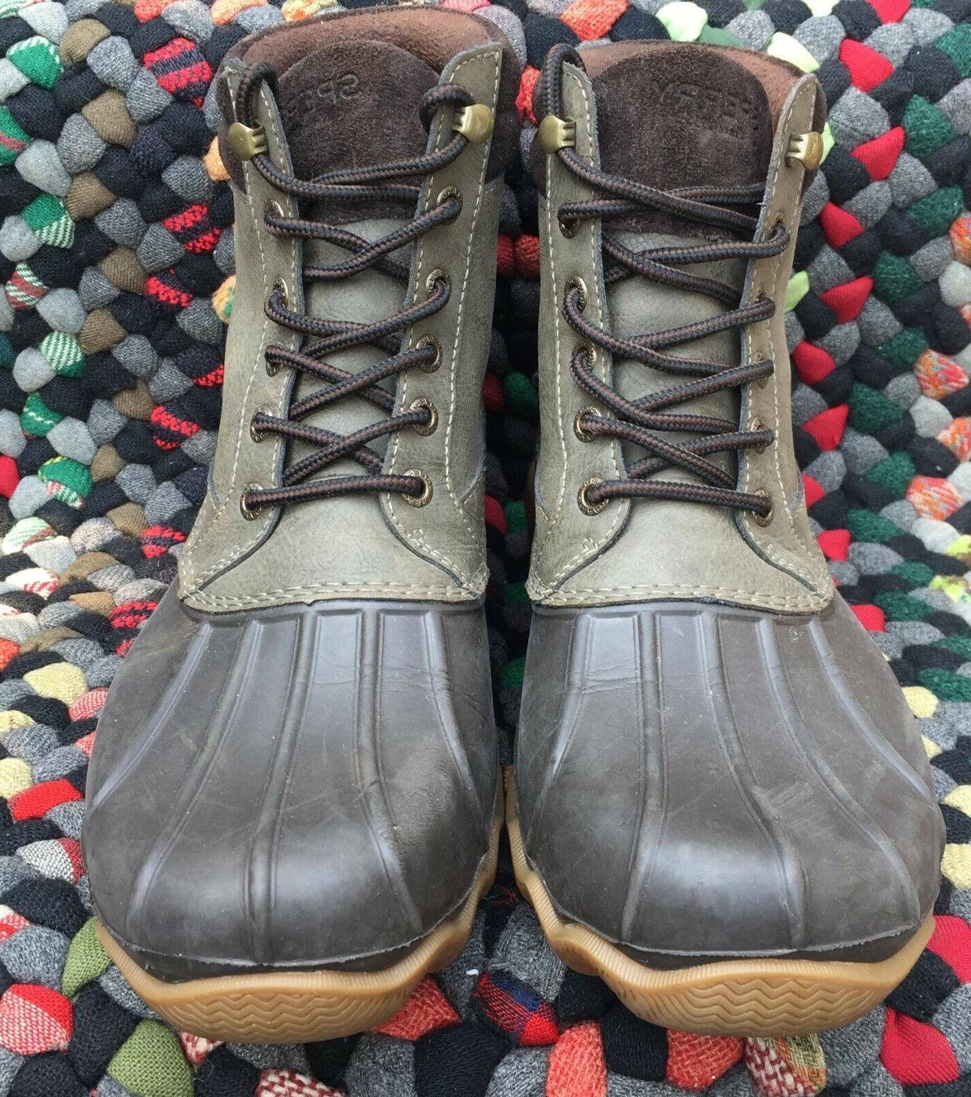 Men's SPERRY Brewster Waterproof Leather Size 8
