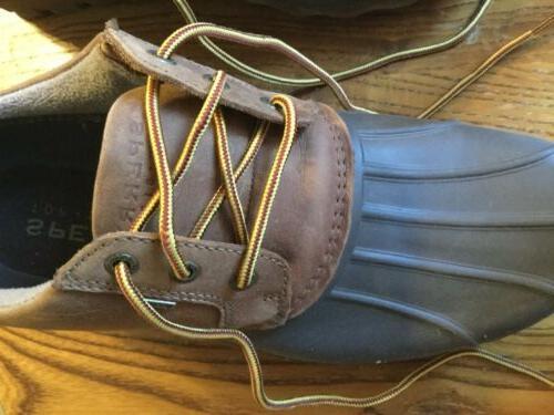 Men's Size 11 Duck Shoe Rain Sperry