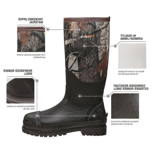 HISEA Boots Rubber Breathable