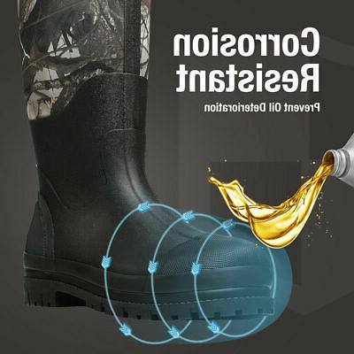HISEA Boots Rubber Breathable Hunting Boots