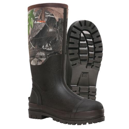 HISEA Men's Breathable Mud Muck Boot