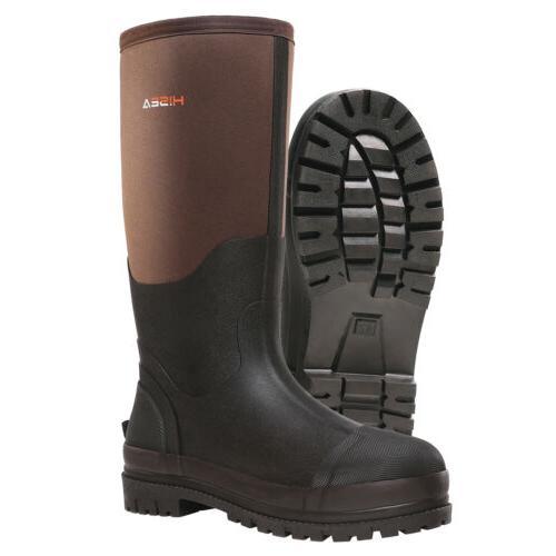 HISEA Steel Toe Work Boot Breathable Boot