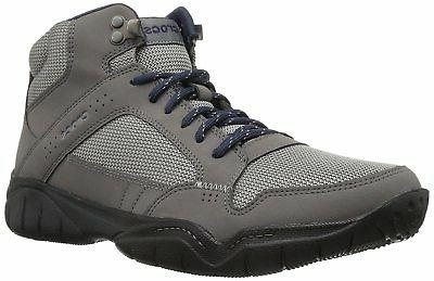 Crocs Men's Swiftwater Hiker Mid M Boot, Graphite/Black, 10