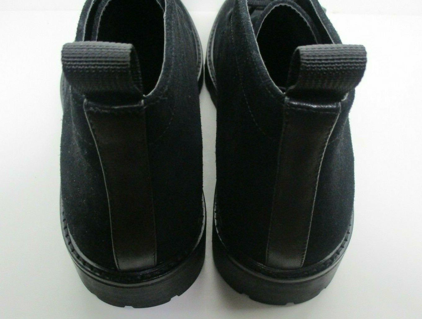 Calvin klein Black Lace Up Boots Size 8