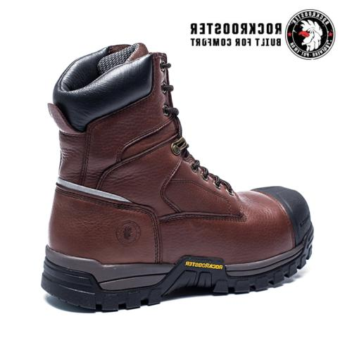 ROCKROOSTER Waterproof Work Boot Composite up Anti-puncture