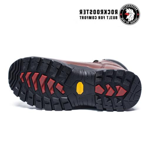 ROCKROOSTER Waterproof Boot Composite Toe Lace up
