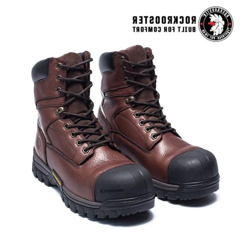 ROCKROOSTER Work Boot Composite Lace