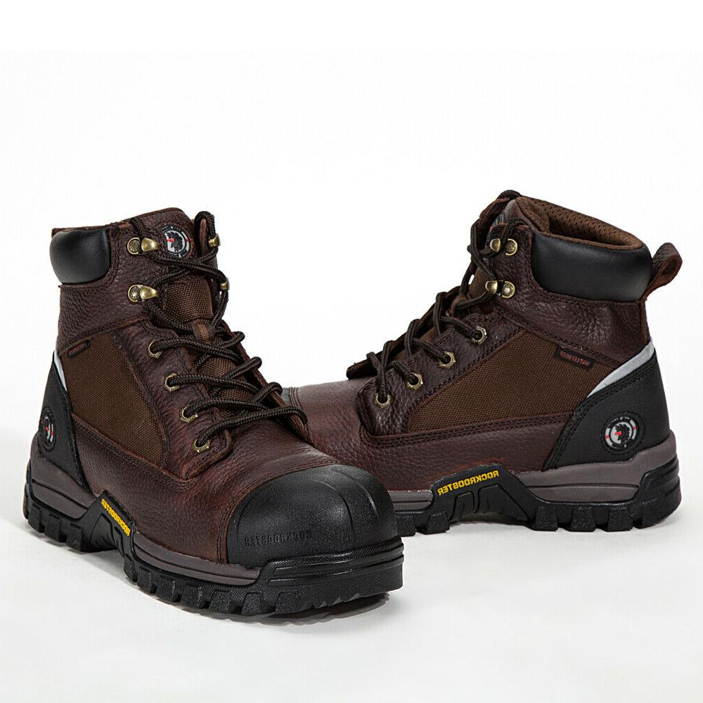 work boots for men composite toe waterproof