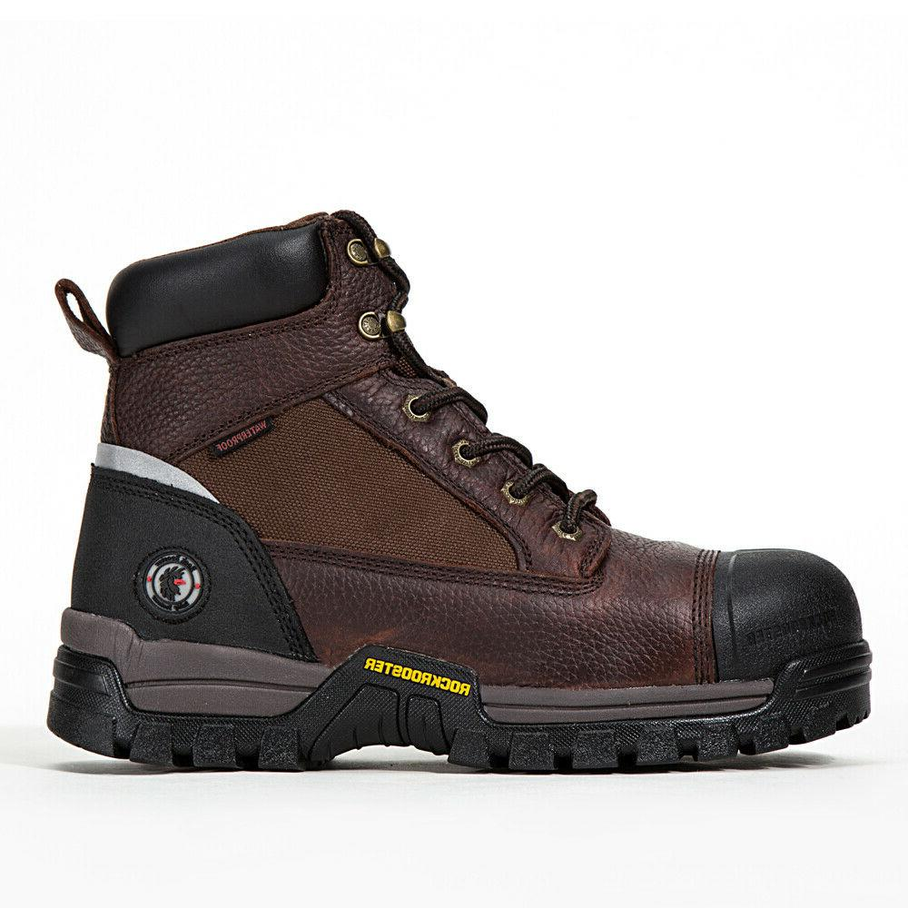 Men's Boots Composite Toe Anti-Water/Oil/Puncture Best Leather Quality
