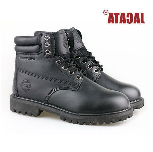 Men's Boots Work Boots Waterproof Wheat 8601