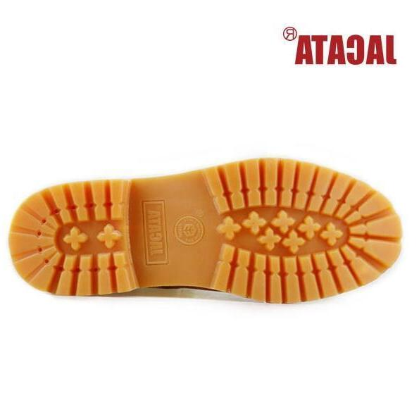 Jacata Work Boots Genuine Leather Wheat