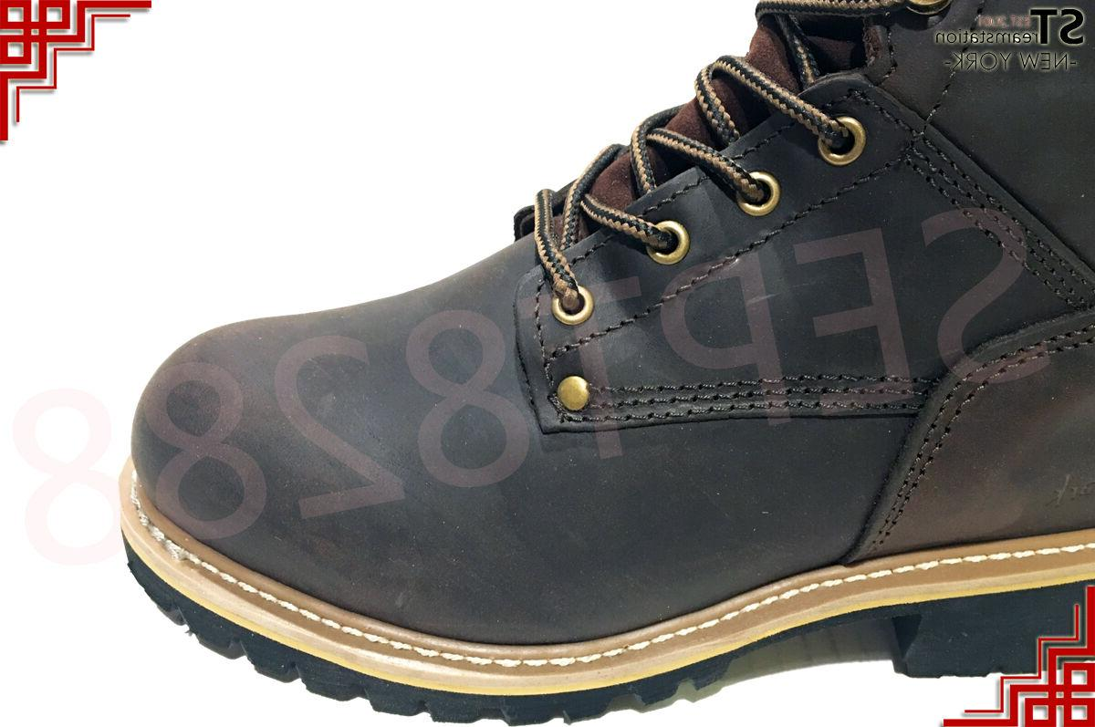 LM Men's Work Rugged Steel Toe Good Welt