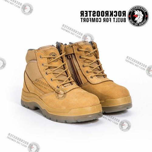 ROCKROOSTER Men's Work Toe, Water Shoes