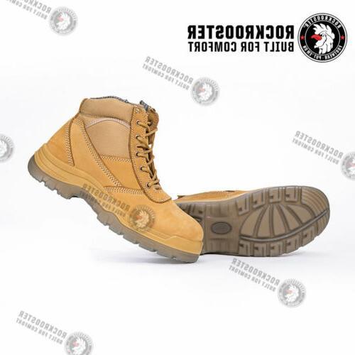 ROCKROOSTER Men's Toe, Antistatic, Shoes