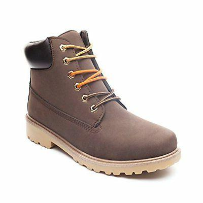 Men's Work Boots Water Resistant Leather Plain Industrial Co