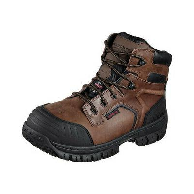 Skechers Men's   Work Hartan Onkin Steel Toe Waterproof Boot