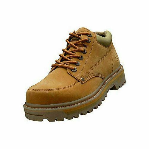Skechers Men's Work Mariners Utility Boot wedge heel shoes o