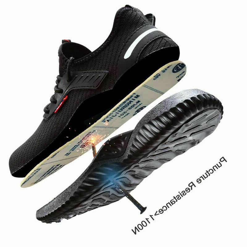 Men's Shoes Steel Toe Bulletproof Boots Sneakers
