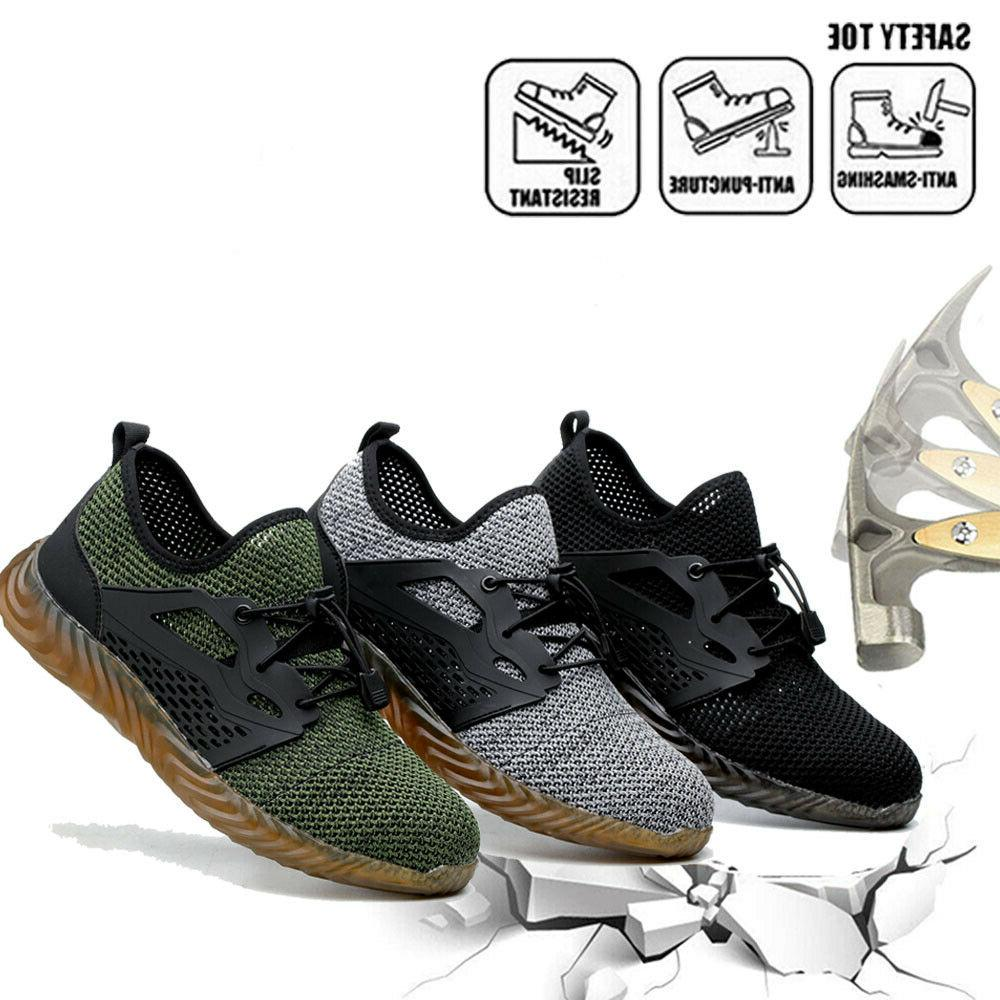 men s work safety shoes steel toe
