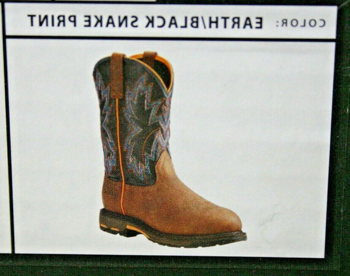 Ariat® Men's Earth/Black Print Boot 10023058 Sz D