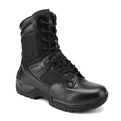Men's Boots Motorcycle Combat Bootie
