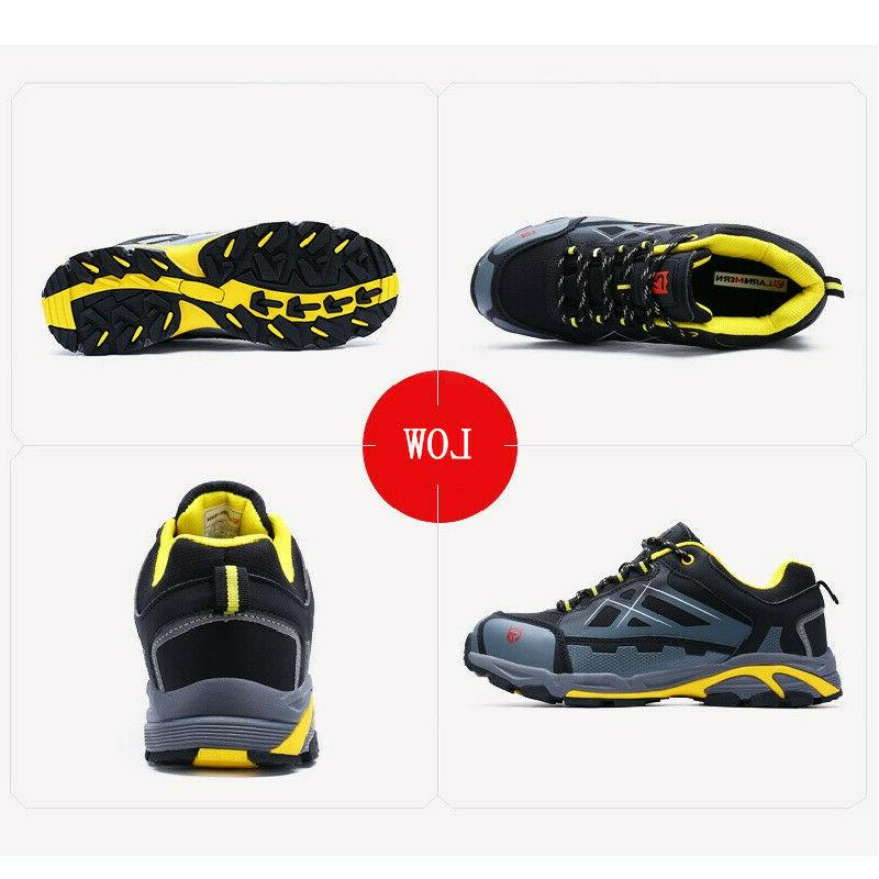 LARNMERN Boots Outdoors Boots Waterproof Safety Shoes
