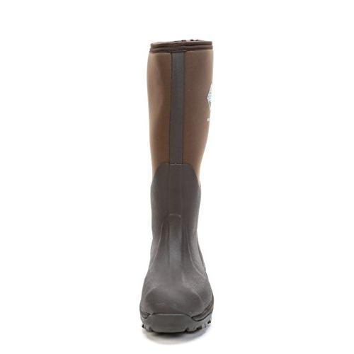Men's Muck Boot Waterproof Wetland Rubber Hunting Boots Bark, 9M