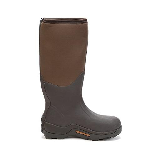 Waterproof Wetland Rubber Hunting Boots Bark,