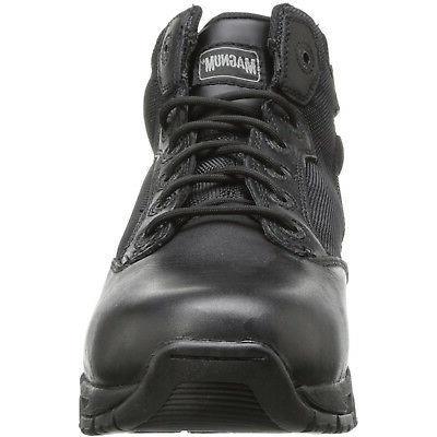 """Magnum Mens 5"""" VIPER PRO Zip SZ WP Army Boots"""
