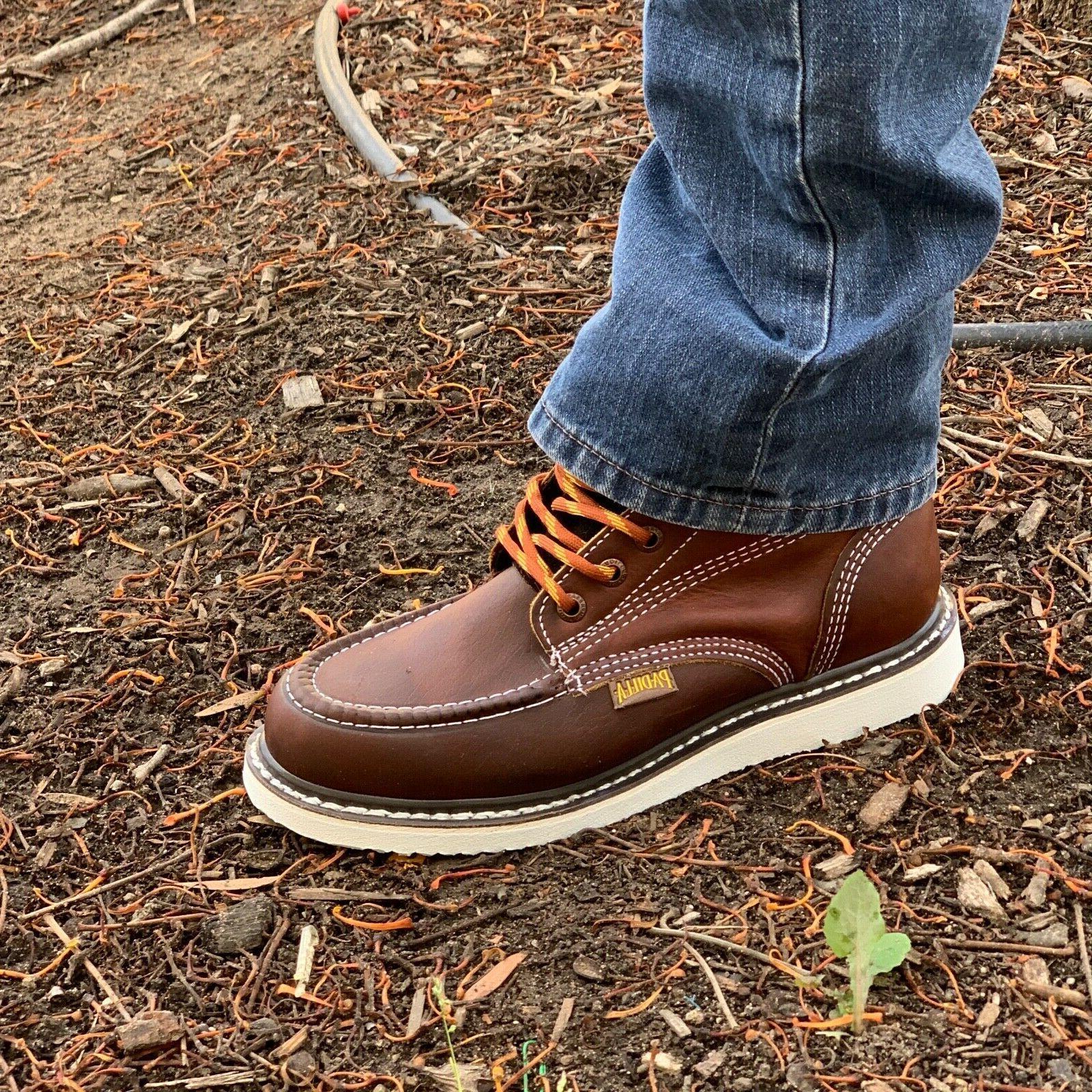 Men's Toe Safety Resistant Waterproof Boots