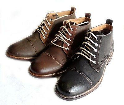 *FERRO ALDO* MENS ANKLE BOOTS DRESSY CASUAL LEATHER LINED CH