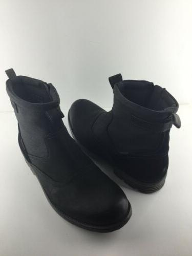 Men's Clarks Boots, Black, Leather, Boots