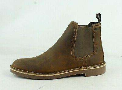 mens bushacre beeswax leather ankle boots size