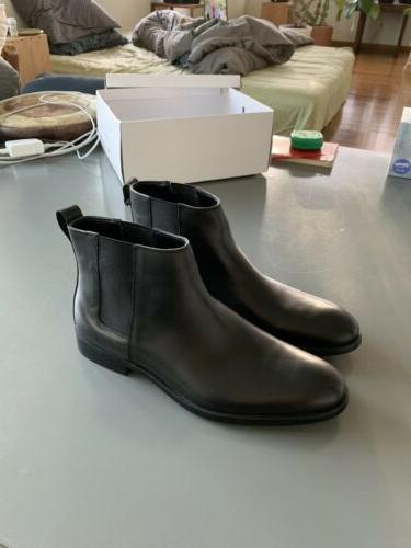 Men's Calvin Leather Boots Chelsea