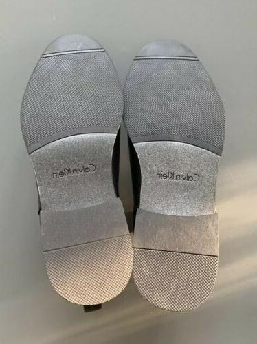 Men's Calvin Leather Ankle Chelsea 10M