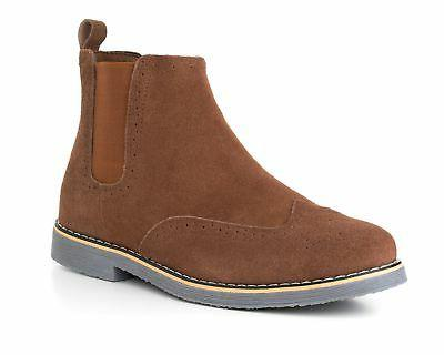 Alpine Swiss Boots Suede Ankle Boots