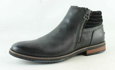 mens dark grey ankle boots size 9