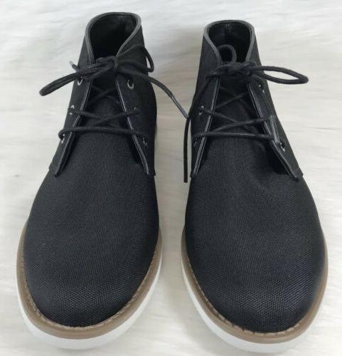Calvin Black Chukka size NEW