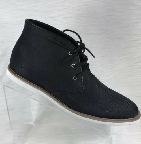 mens faron black chukka boots cordura size