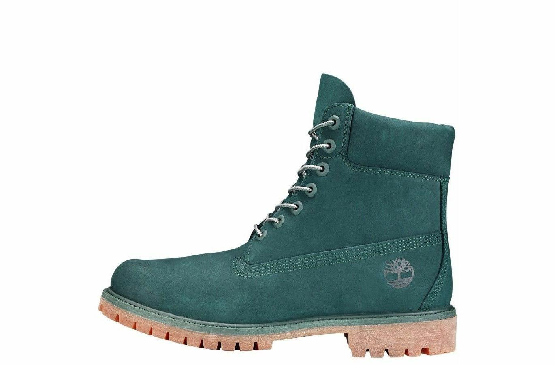 "Timberland GREEN Waterbuck 6"" Boots Release Rare"