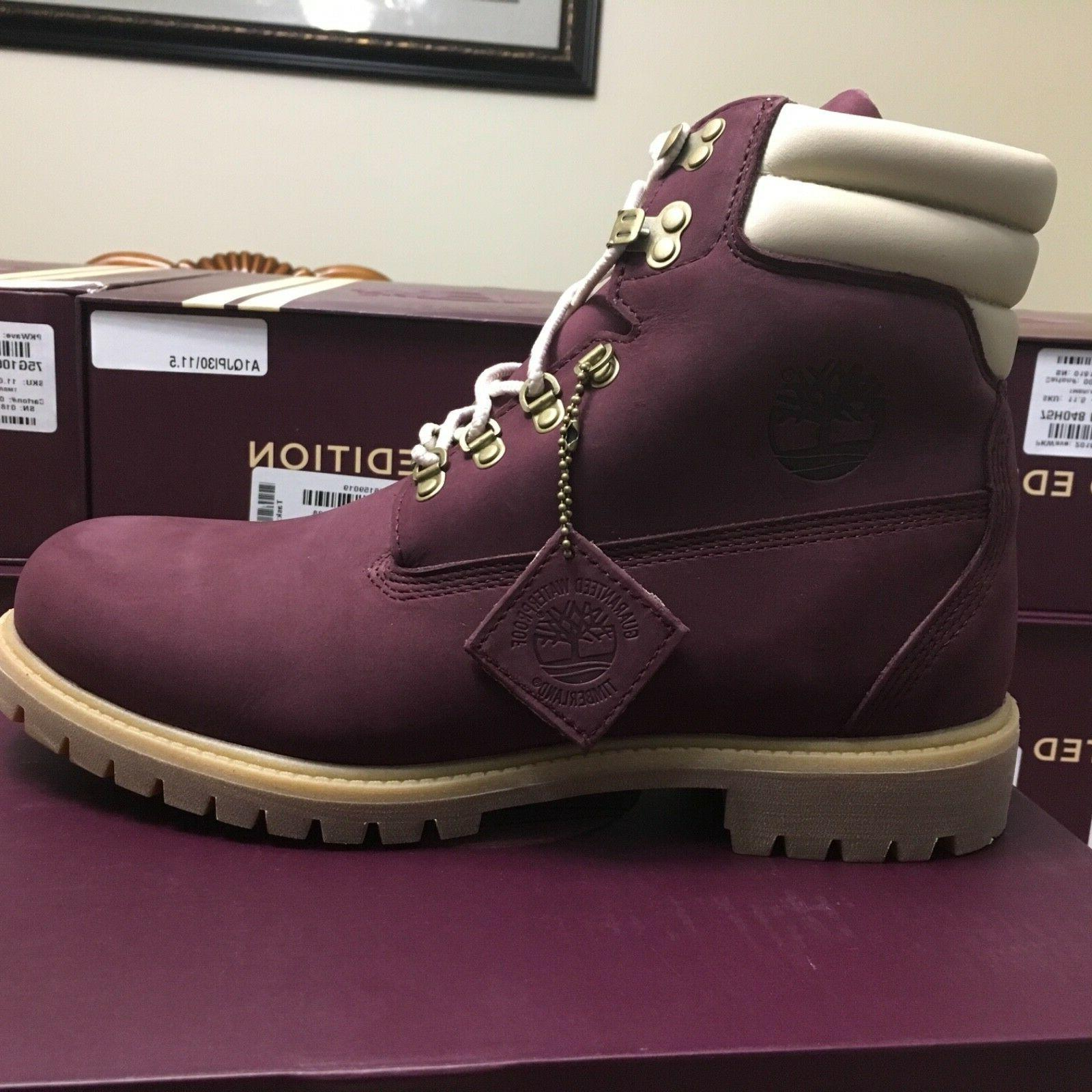 "Men's Timberland Limited Editon 6"" 11.5"