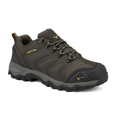 US Men's Low Top Waterproof Hiking Boots Outdoor Lightweight