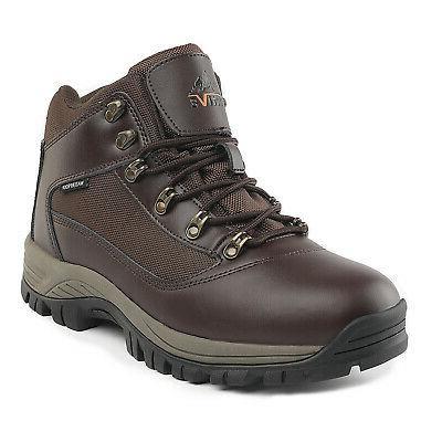 US Men's Waterproof Construction Hiking Boots Mid Outdoor Tr