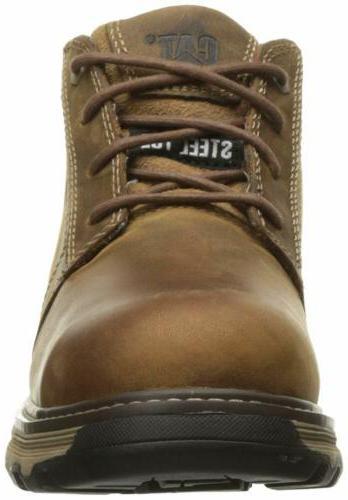 Caterpillar Mens Steel Toe Industrial Construction Shoes