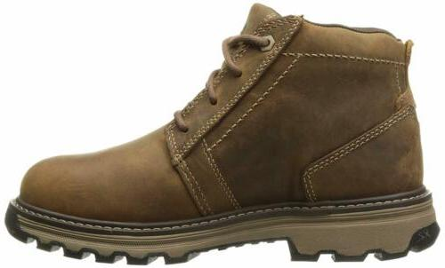 Caterpillar Mens Parker Steel Toe Industrial and Construction Shoes